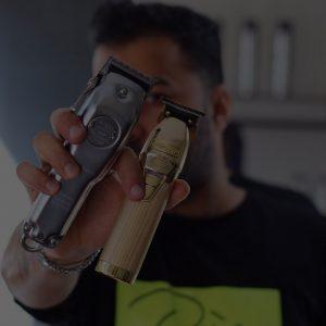 حامد جوان استاد آموزش آرایشگری