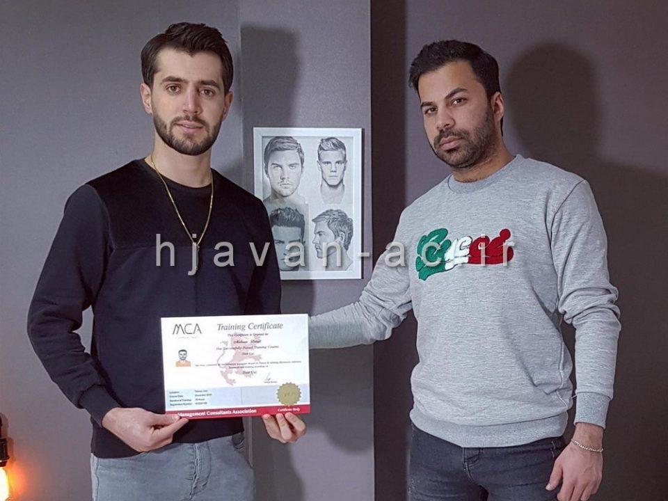 آموزش فنی حرفه ای آرایشگری مردانه
