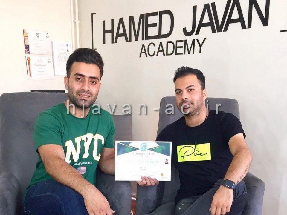 آکادمی آرایشگری مردانه شرق تهران