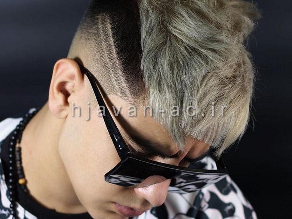 آموزش خصوصی رنگ موی مردان