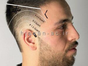 آموزش تقسیم بندی مو