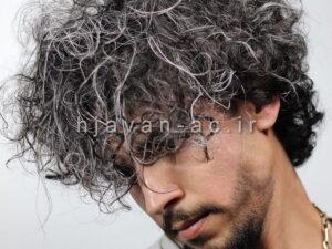 آموزش فر کردن موی مردان