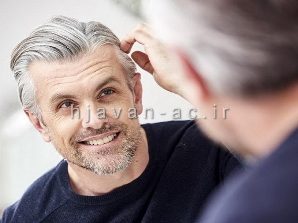 رنگ مو مخصوص موهای سفید