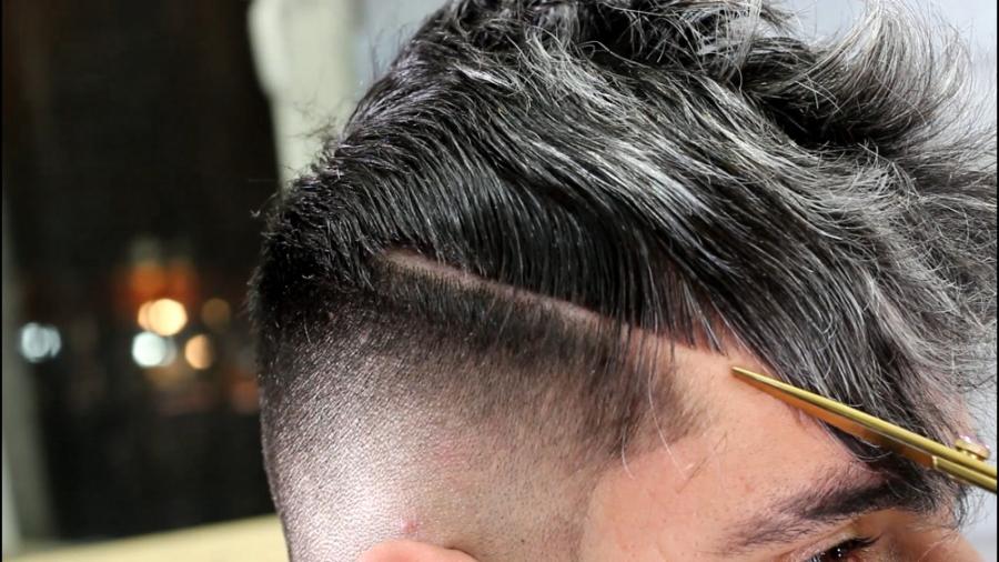آموزش رنگ موی مردانه