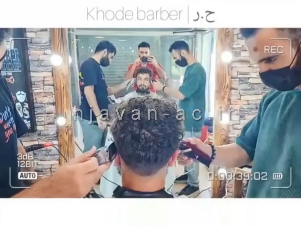 هنرجوی موفق آموزش آرایشگری مردانه از تهران